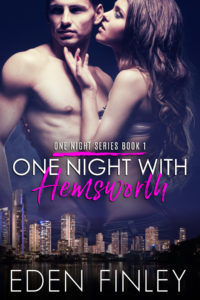 BK1 One Night with Hemsworth E-Book Cover
